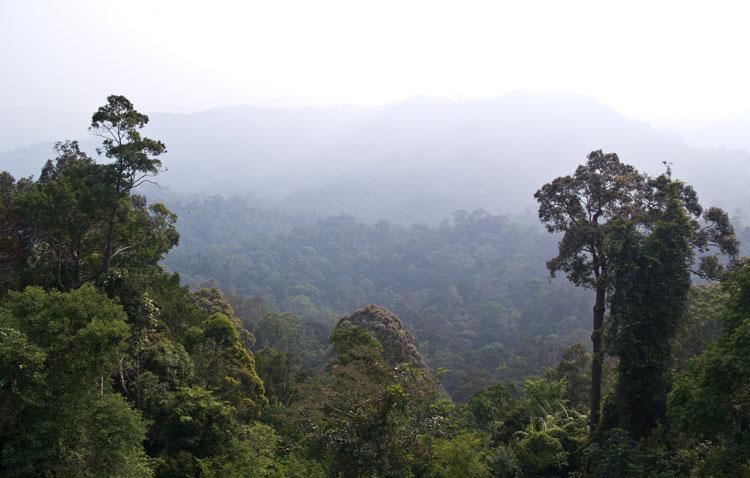 Bukit Seraya panorama
