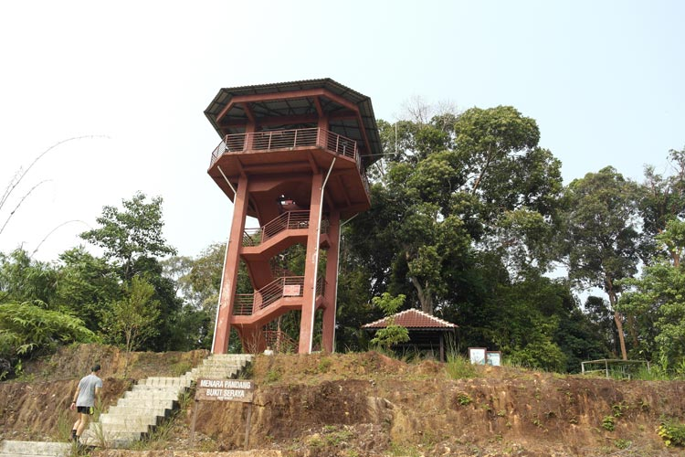 Bukit Seraya lookout tower