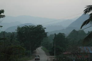 Merapoh-Sungai Relau road