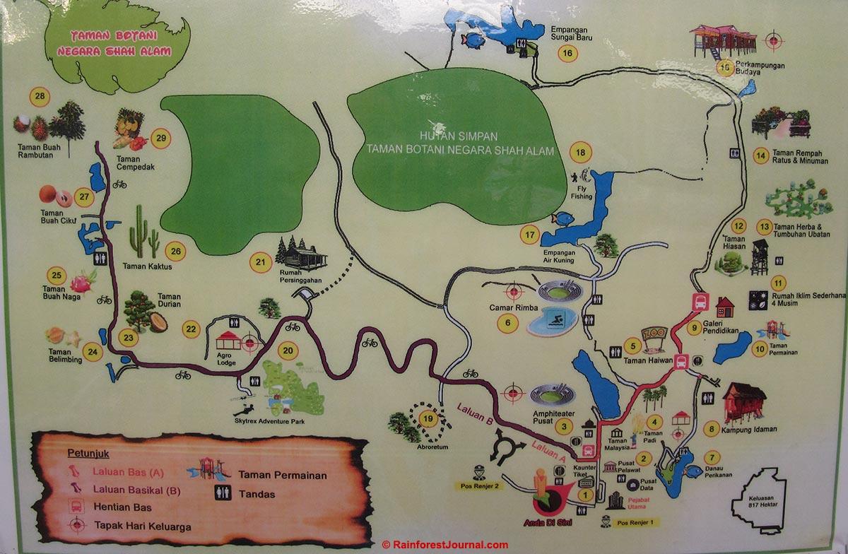 TBNSA map