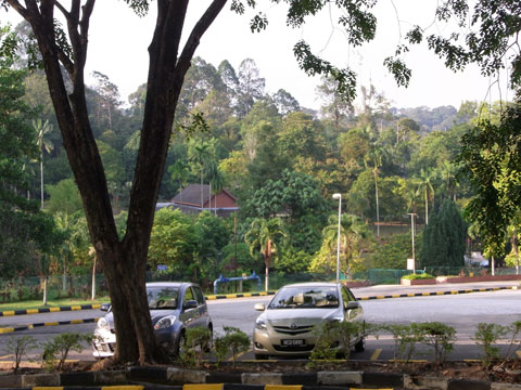 Carpark of TBNSA