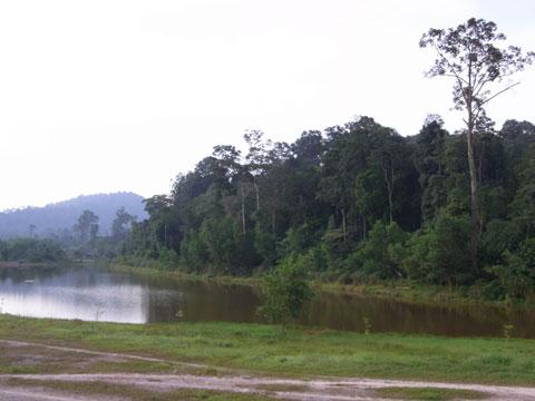 TBNSA lake