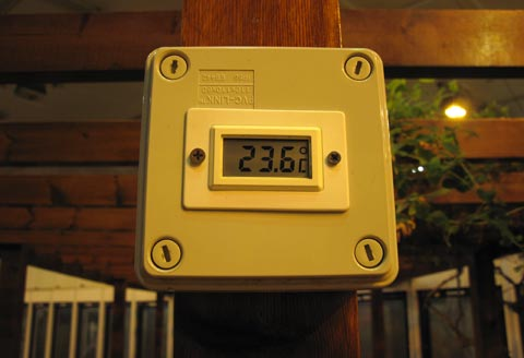 four season house temperature