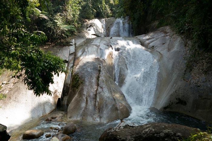 Berembun falls upper cascade