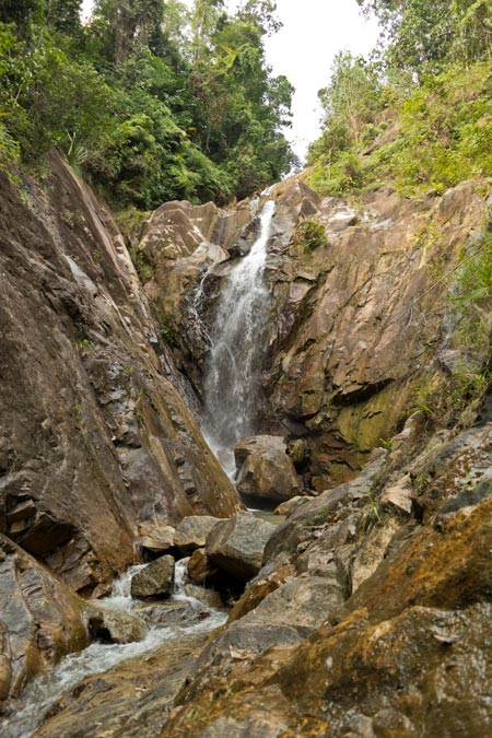 Gunung Pulai waterfall