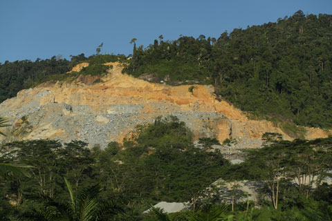 Gunung Pulai quarry