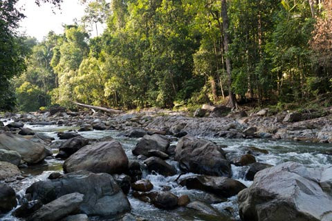 Boulders on the Selai River